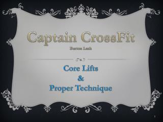 Captain  CrossFit Burton Lash