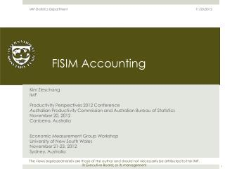 FISIM Accounting