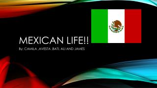 MexicAN  life!!
