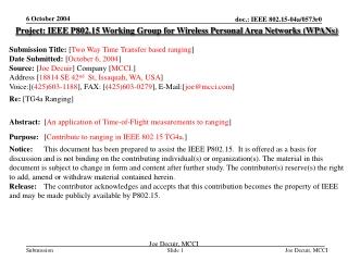 Introduction RTD 1-19