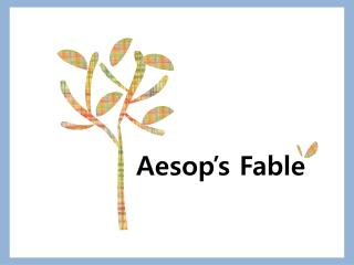 Aesop's Fable