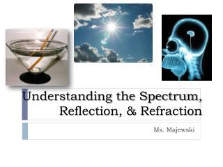 Understanding the Spectrum, Reflection, & Refraction