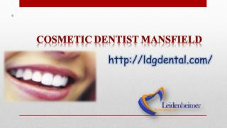 Cosmetic Dentist Mansfield