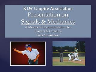 Signals Basics Start with the right way
