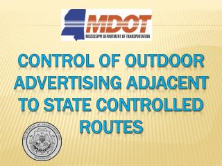 Control of Outdoor Advertising Adjacent to State Controlled Routes