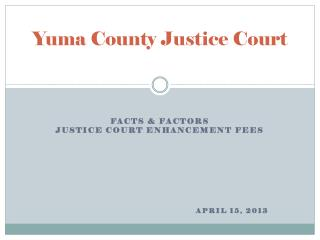 Yuma County Justice Court