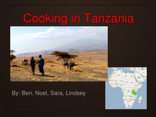 Cooking in Tanzania