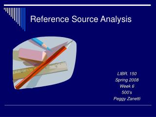 Reference Source Analysis