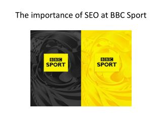 The importance of SEO at BBC Sport