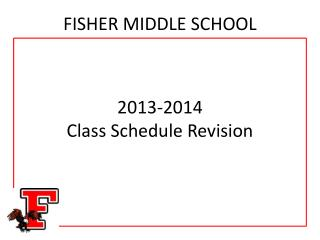 FISHER MIDDLE SCHOOL