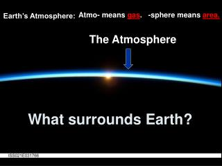 What surrounds Earth?