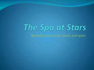 The Spa at Stars