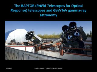 Fast Response: Begin imaging anywhere in the sky in < 6s Seven  0.4m class telescopes