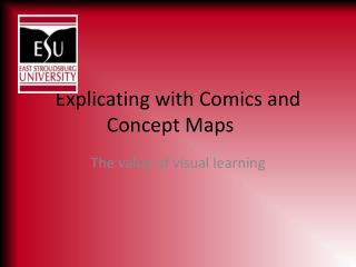 Explicating with Comics and Concept Maps