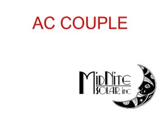 AC COUPLE