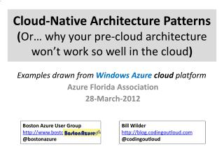 Azure Florida Association 28-March-2012