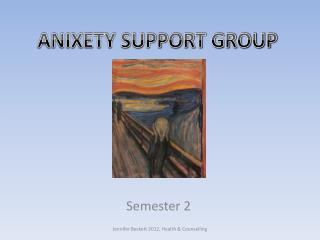 ANIXETY SUPPORT GROUP