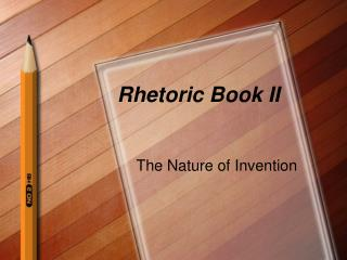 Rhetoric Book II