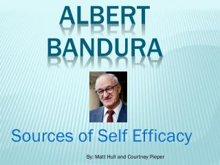 albert bandura view of human nature
