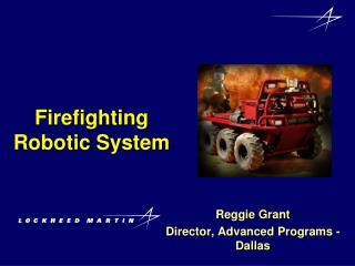 Firefighting Robotic System