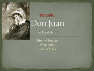 THE EPIC: Don Juan by Lord Byron