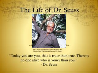 The Life of Dr. Seuss