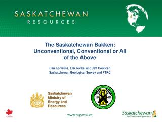 The Saskatchewan Bakken: Unconventional, Conventional or All of the Above