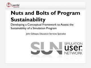 Nuts and Bolts of Program Sustainability