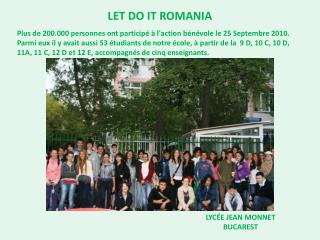 LET DO IT ROMANIA
