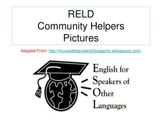 RELD  Community Helpers Pictures