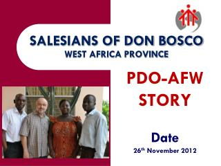 SALESIANS OF DON BOSCO WEST AFRICA PROVINCE