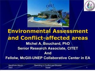 Michel Bouchard - BOUCHARD-16 mars 2007 - PowerPoint Presentation