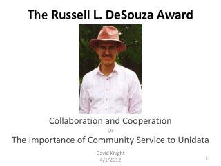 The  Russell L. DeSouza Award
