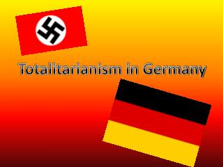 Totalitarianism in Germany