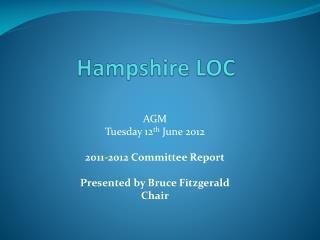 Hampshire LOC