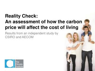 Reality Check: An assessment of how the carbon price will affect the cost of living