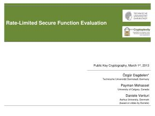 Rate-Limited Secure Function Evaluation