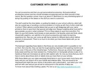 Find a fantastic range of stick on labels, clothing labels f