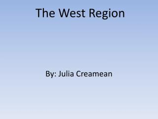 The West Region