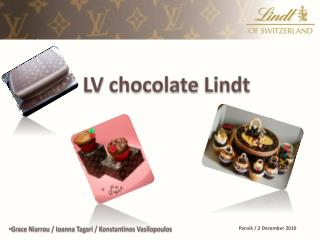 LV chocolate  Lindt