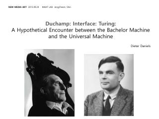 Duchamp: Interface: Turing: