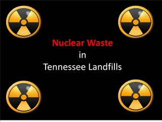 Nuclear Waste in Tennessee Landfills