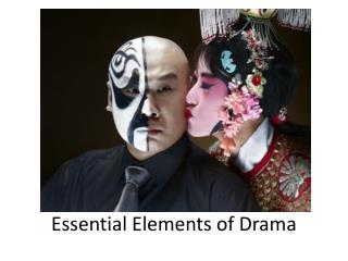 Essential Elements of Drama