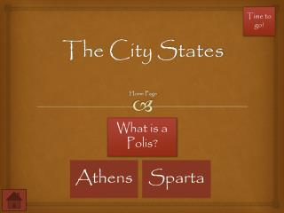 The City States Home Page
