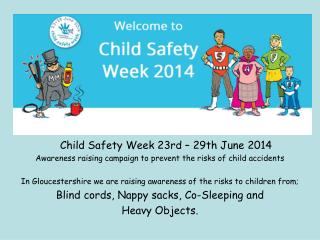 Child Safety Week 23rd – 29th June 2014