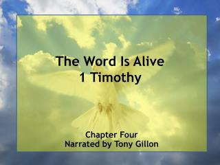 The Word Is Alive 1 Timothy