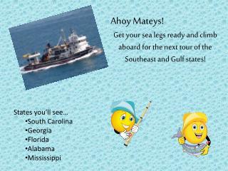 Ahoy Mateys !