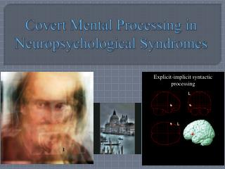 Covert Mental Processing in Neuropsychological Syndromes