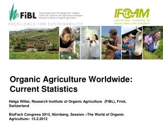 Organic Agriculture Worldwide: Current Statistics