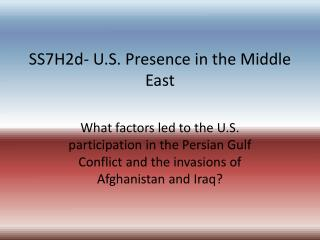 causes and effects of the persian gulf 2018-5-10  gulf war refers to a brief conventional warfare faught against iraq's ruling regime under saddam hussain by a coalition of forces belonging to approximately 35 countries led by usa with major contribution from kuwait, saudi arabia, uk and france.